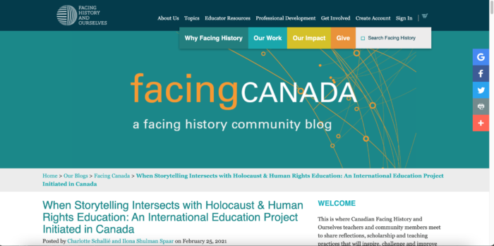 Facing Canada Screenshot