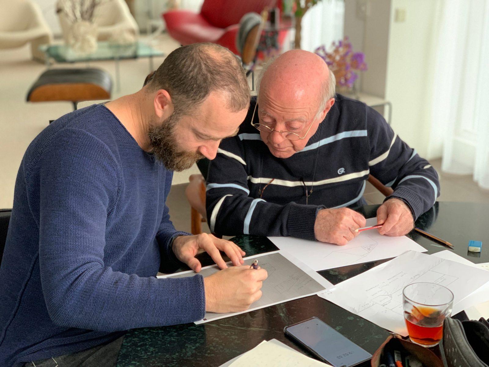 Gilad Seliktar & Rolf Kamp (Amsterdam, December 2019)