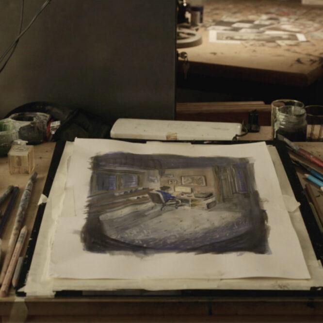 Barbara Yelin's Art Desk