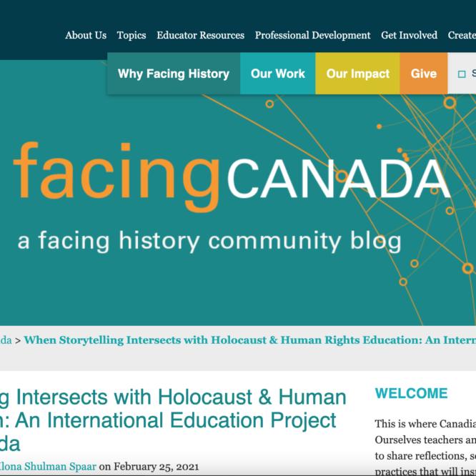 Facing Canada Screenshot